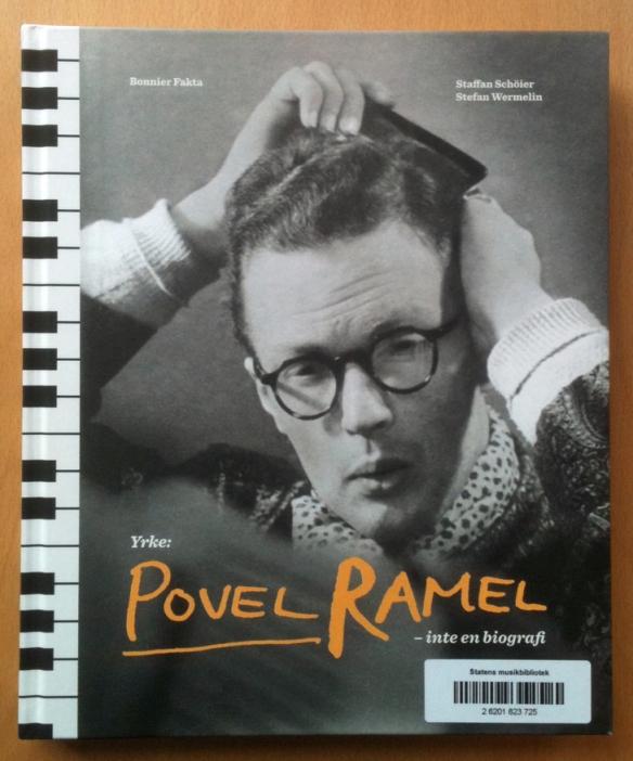 """Omslag till boken """"Yrke: Povel Ramel"""""""