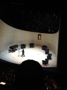 Bild av scenrummet i Lulu
