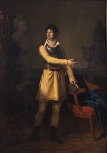 Pierre Lafon ; oljemålning av Eugénie Delaporte
