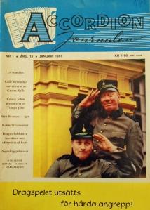 Accordionjournalen nr 1, 1961