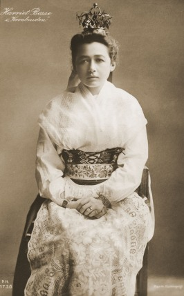 Harriet Bosse som Kersti i Kronbruden 1906, Svenska Teatern i Helsingfors