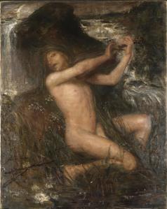 Ernst Josephson: Näcken. Nationalmuseum. Publicerad med tillstånd.