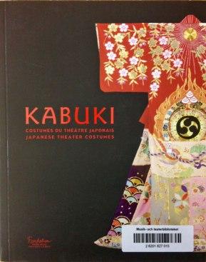 Kabuki, costumes du théâtre japonais, omslag