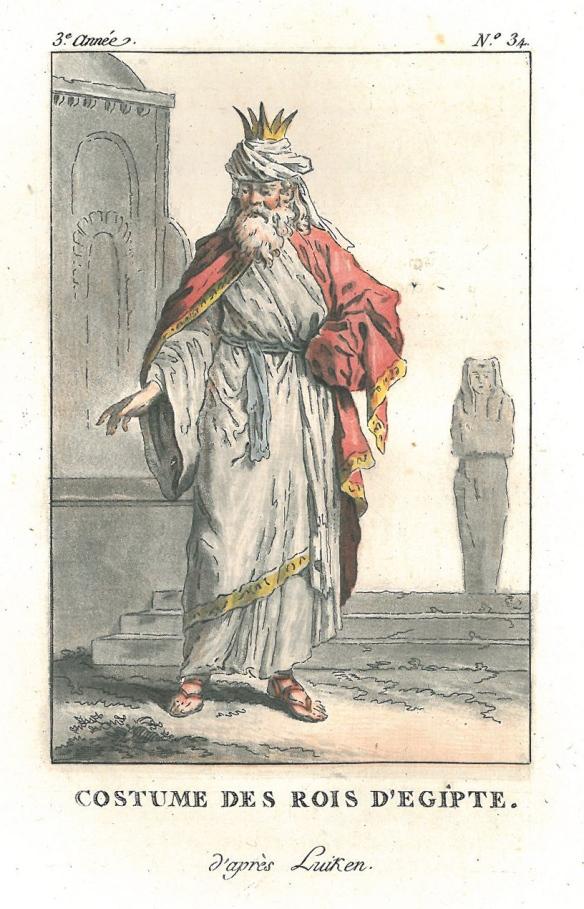 Egyptisk konung