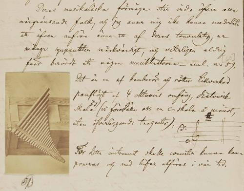 En sida ur Södlings bok