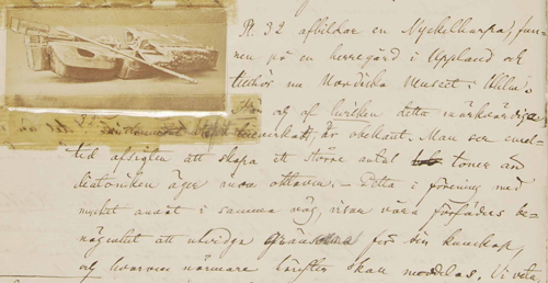 Pl. 32, med en bild av en nyckelharpa