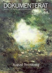 Strindbergs målning Underlandet, 1894, Nationalmuseum